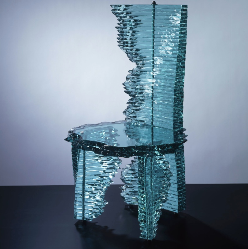 final glass chair